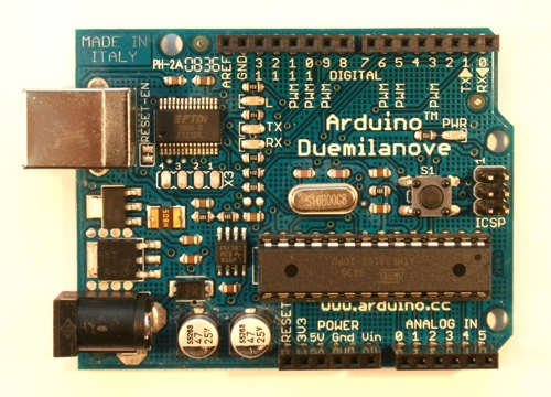 Paul\'s Electronics | Arduino projects: LED 10-bar array