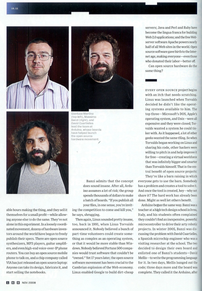 Arduino Blog » WE ARE ON WIRED!!