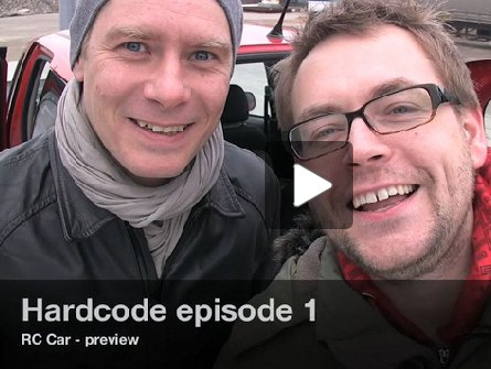 hardcode's guys during their first video