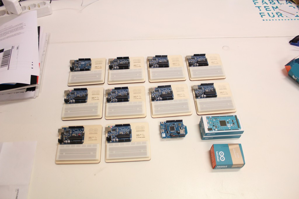 Arduino Set For Workshops