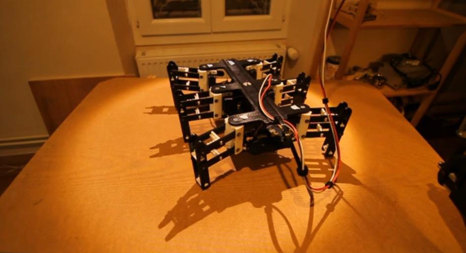 bleuette hexapod robot