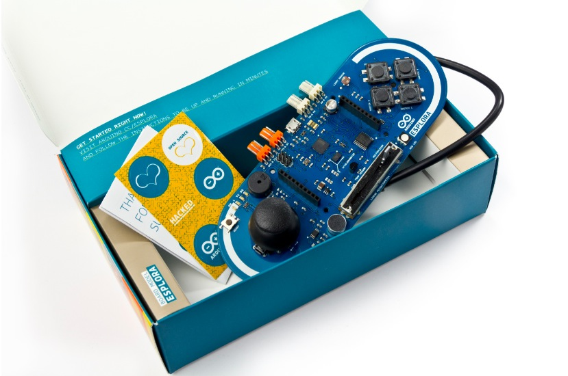 ArduinoEsplora retail package