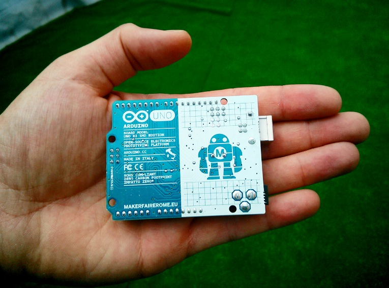 Arduino Uno Limited Edition back