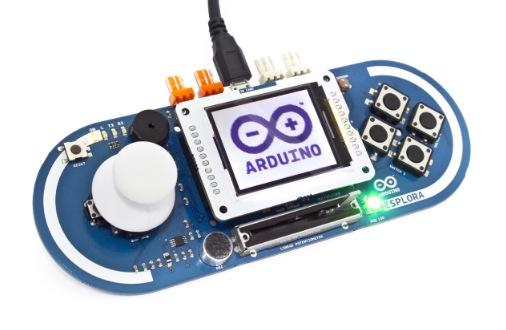 Arduino tft - Esplora compatible