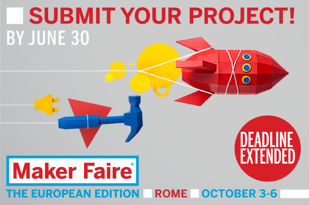 Call for makers extended
