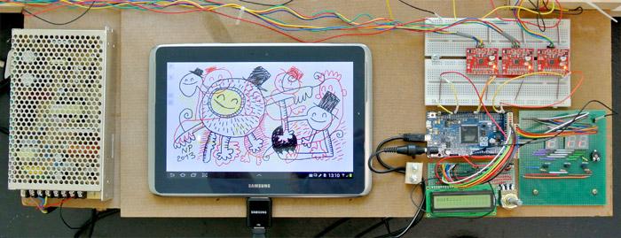 arduino painting detail