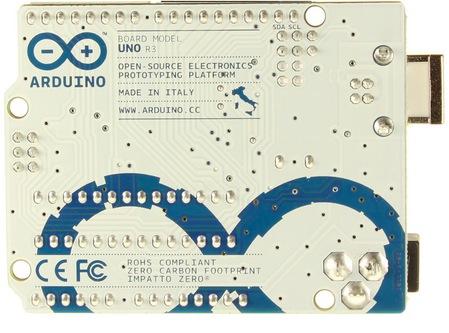 Arduino UNO R3 back