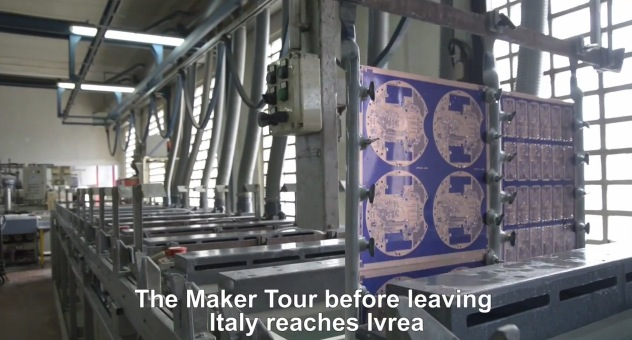 Makertour in Torino and Ivrea