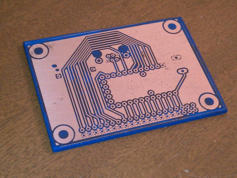 etched prototype