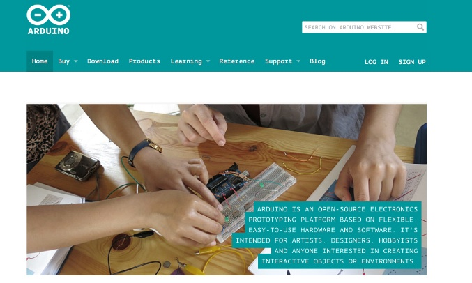 arduino - new website