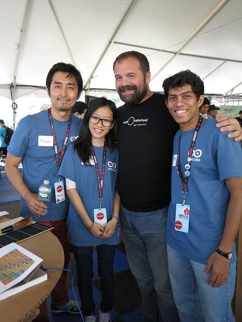 Banzi and Volunteers