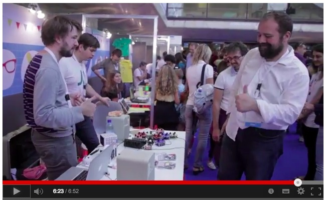 Arduino at Makerfaire Video