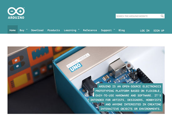 New Arduino Website