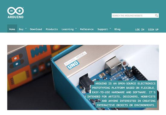 New Arduino Website