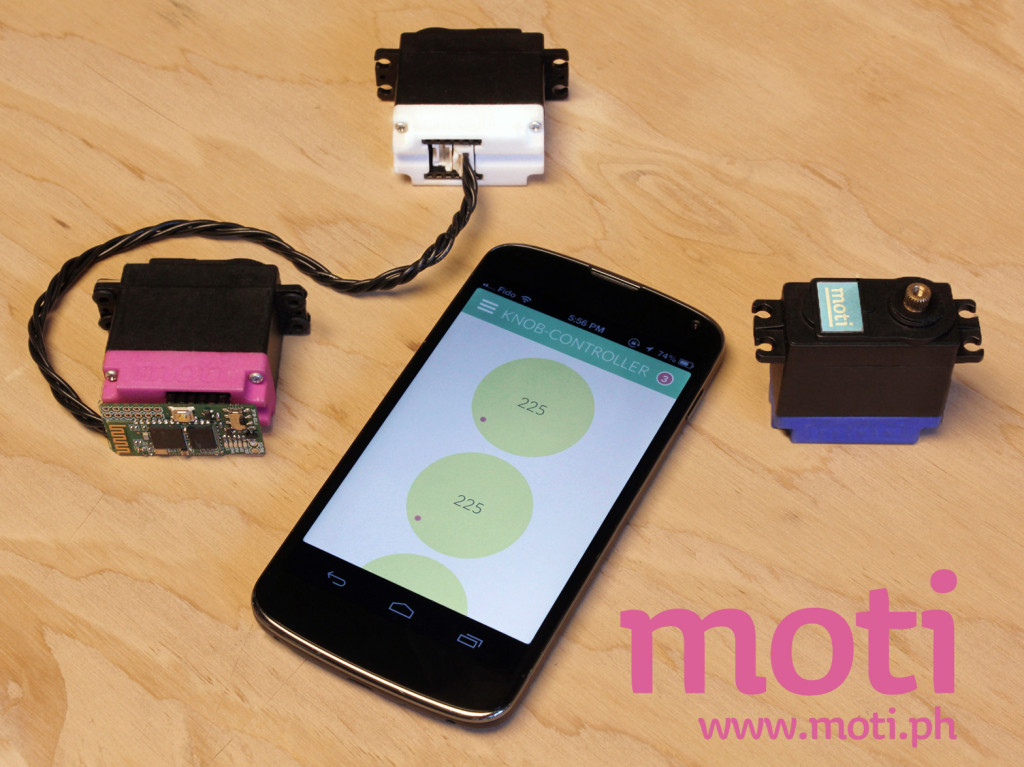 moti on kickstarted
