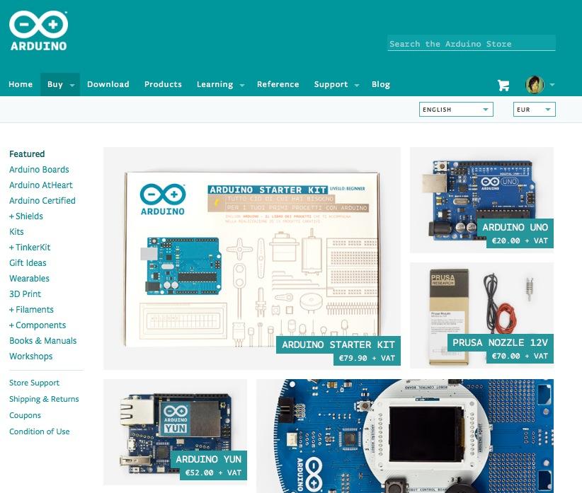 ArduinoStore