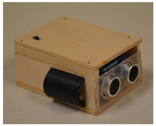 An ultrasonic eye for the visually impaired - #ArduinoMicroMonday
