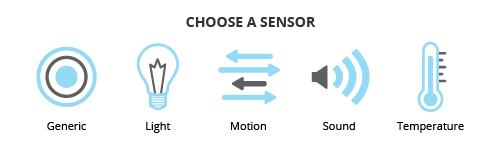 Sketch Builder - Sensor Selection