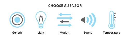 Sketch Builder - Sensor Selection