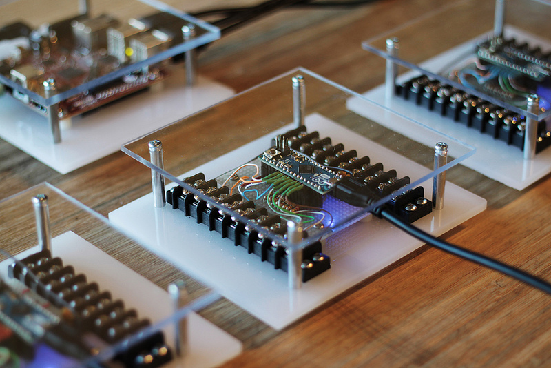 Arduino an interactive musical art installation for