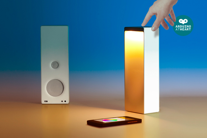 Arduino the most advanced lamp speaker is open