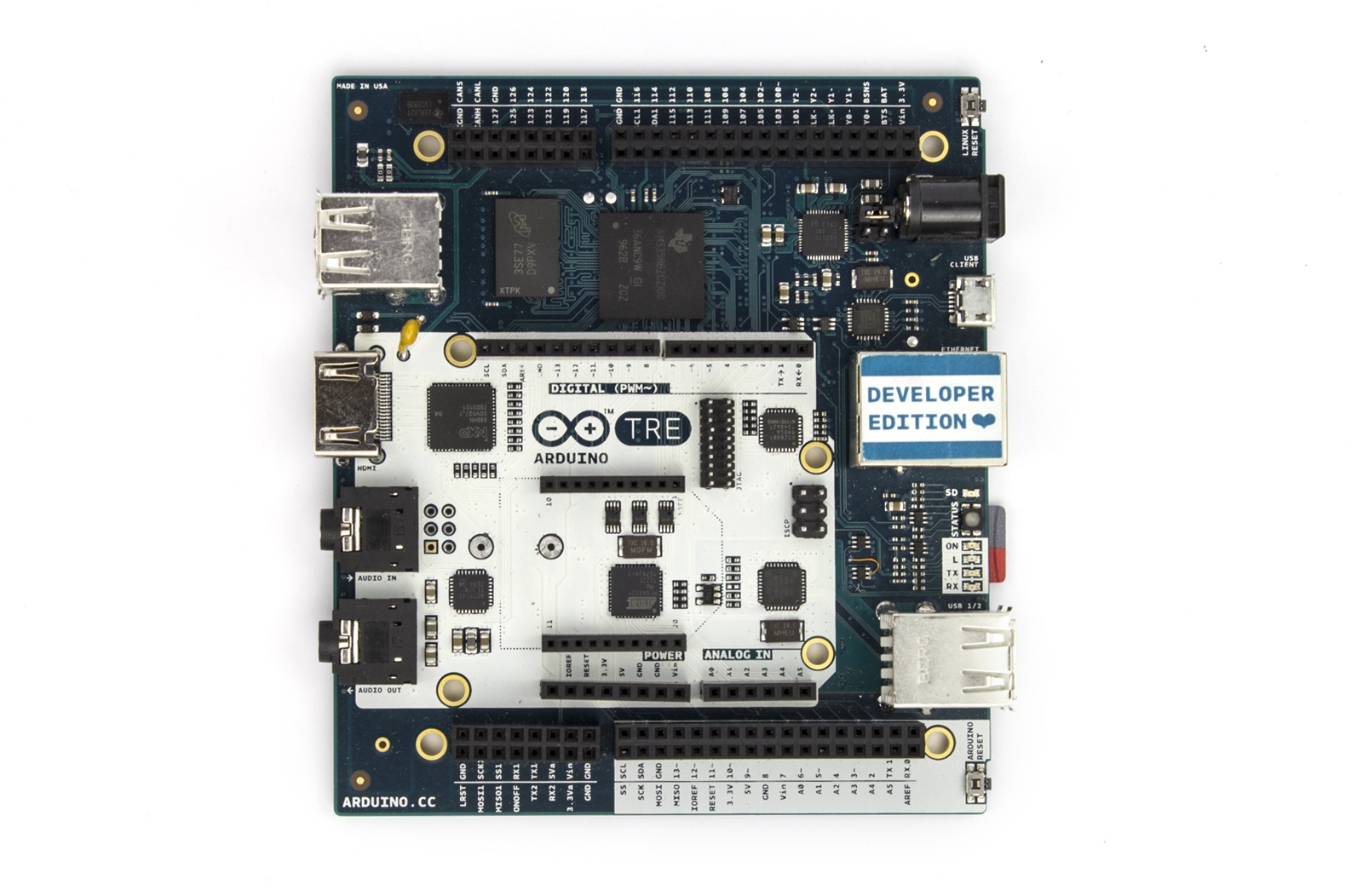 Arduino tre dev edition is now available