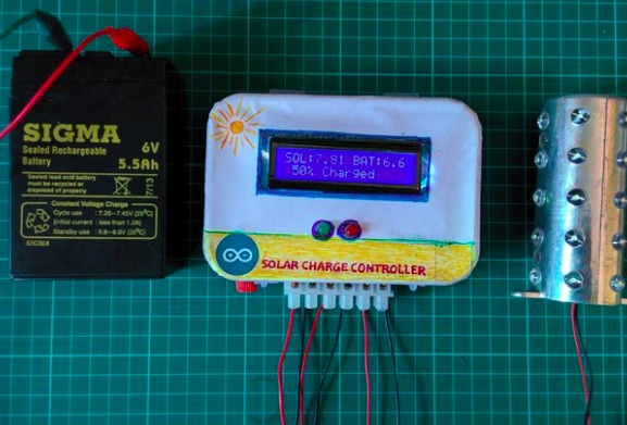 Arduino Blog 187 A Solar Charge Controller Made With Arduino