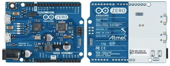Arduino meet zero the new board jointly