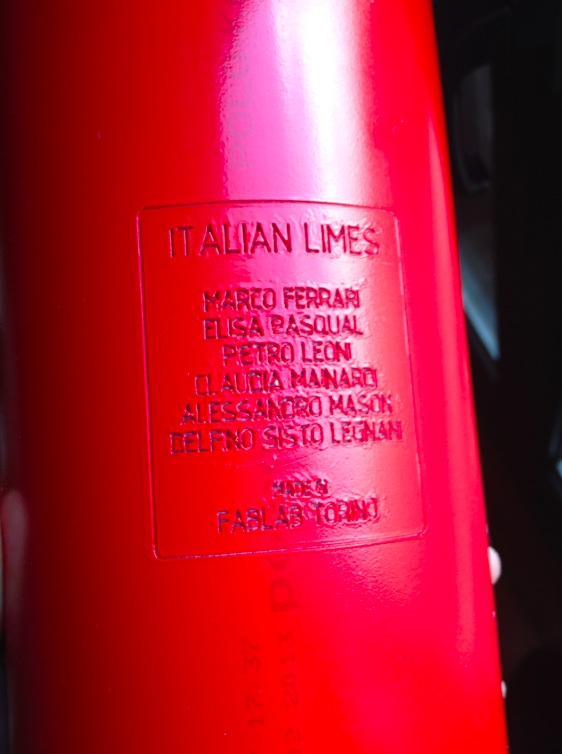 Italian Limes - work in progress at Fablab Torino
