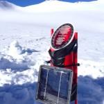 On the Similaun glacier