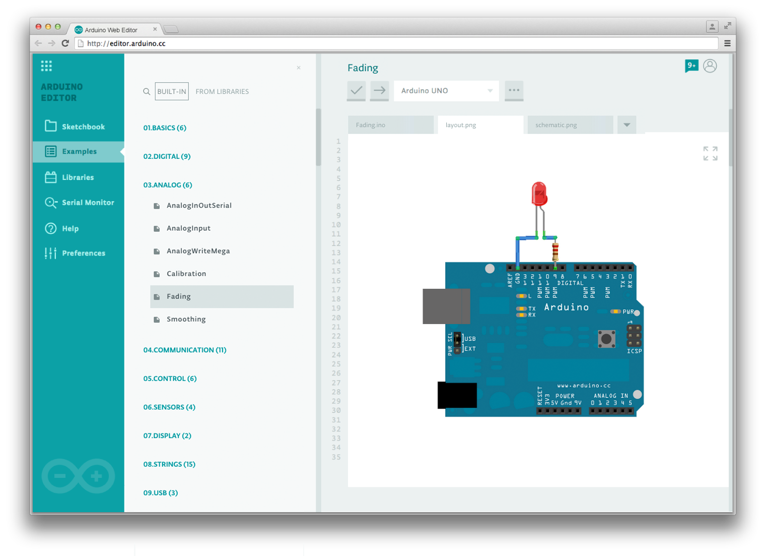 Arduino Blog Sneak Peek On The New Web Based Create Java Breadboard Simulator This Is How You Can Use Program
