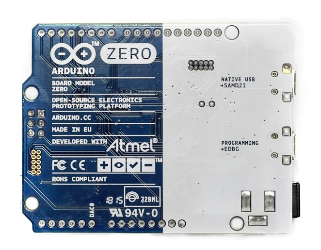 Arduino Zero - back