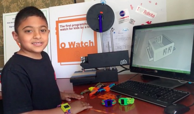 Arduino a diy smartwatch designed by kid for kids