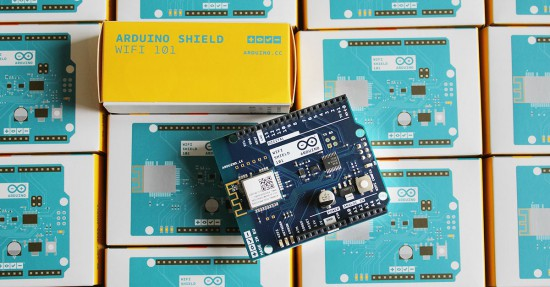 Arduino wifi shield is now available in