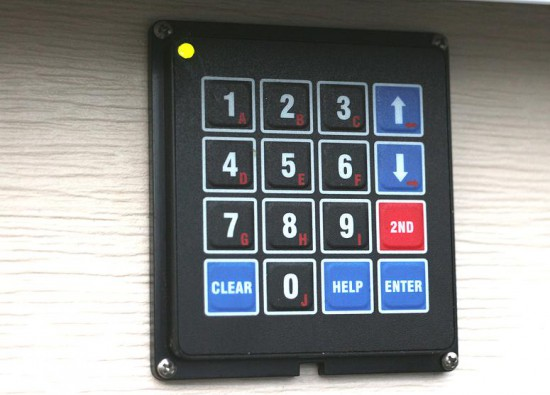 arduino blog diy garage door keypad project. Black Bedroom Furniture Sets. Home Design Ideas