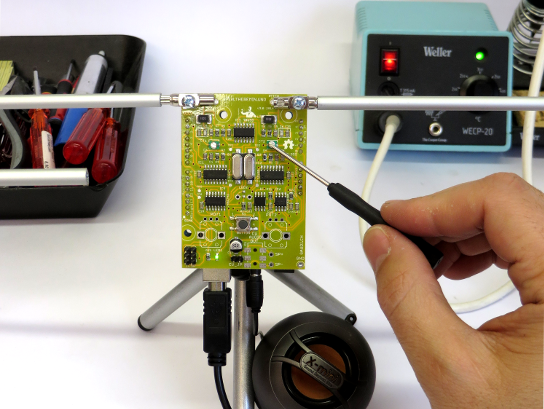 Arduino the real open source theremin on