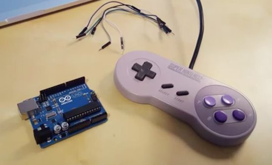 Arduino turn your snes gamepad into a usb controller