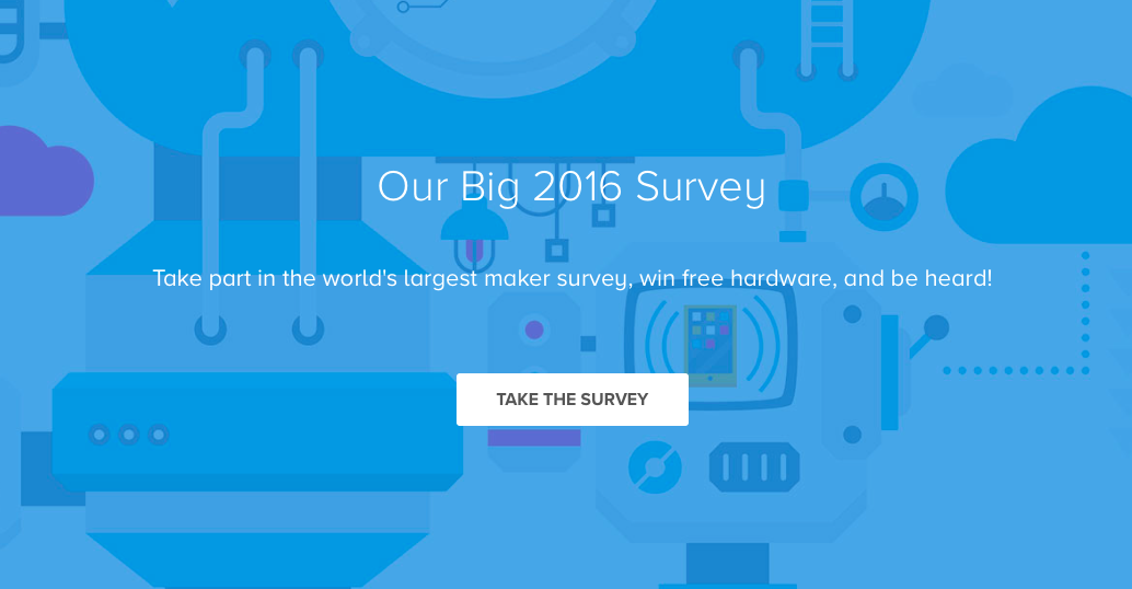 arduino blog win free hardware in the world s largest maker survey