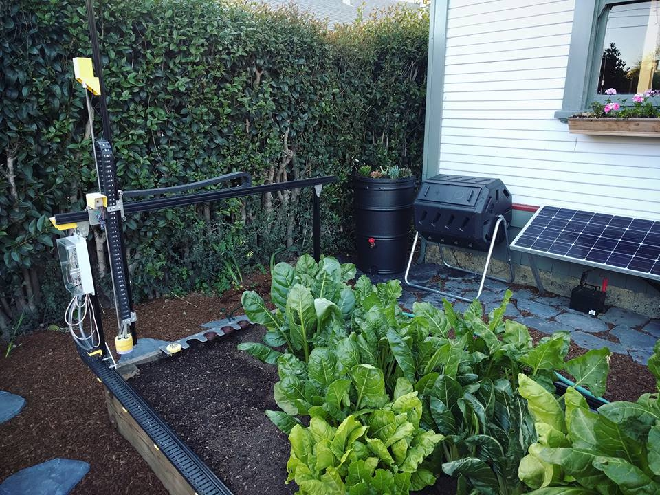 Arduino Blog » FarmBot is an open-source CNC farming machine