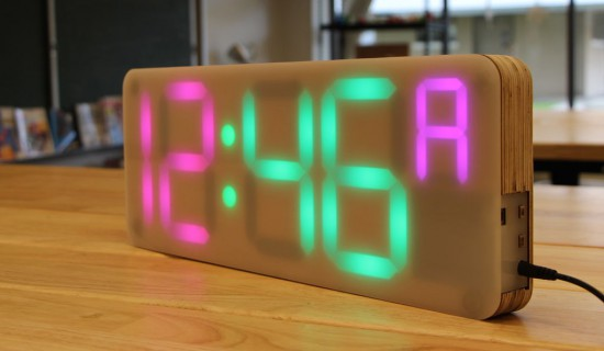 Arduino a diy digital clock designed for