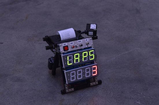 Arduino lap timer planetarduino