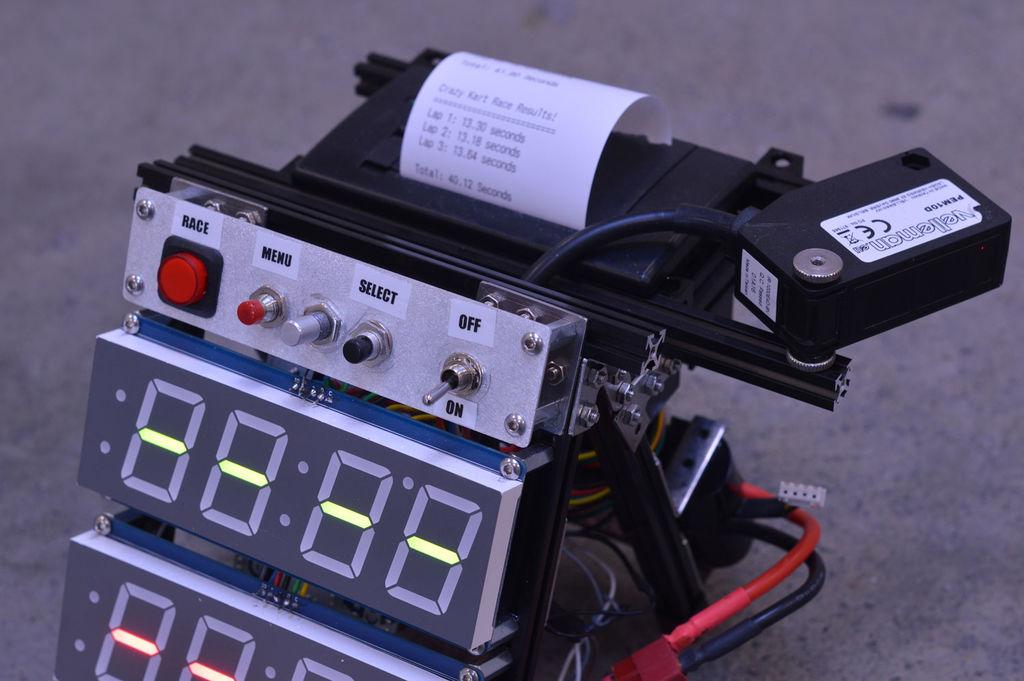 Arduino the flying start lap timer
