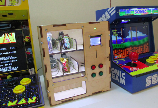 Arduino Blog 187 Venduino Is A Diy Arduino Vending Machine
