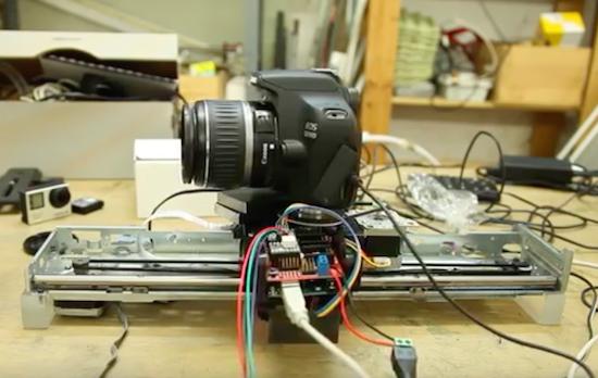 Arduino Blog » Turn your printer into a MOCO slider with Arduino