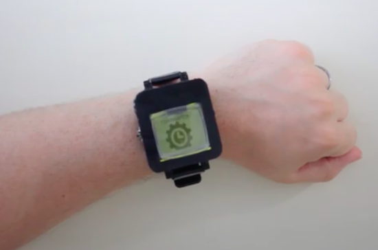 Turn your old cellphone into a smartwatch