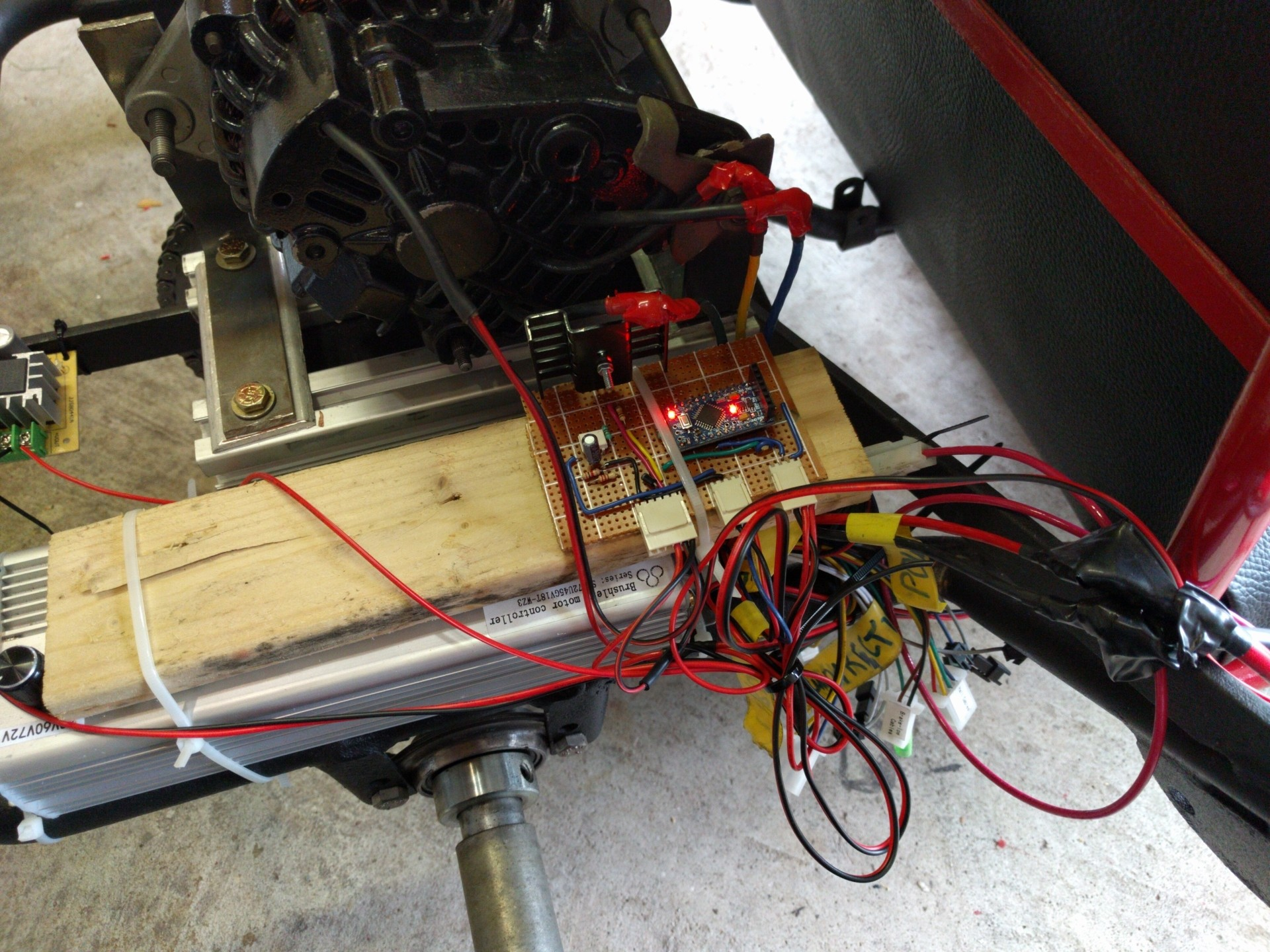 Build An Electric Go Kart On A Budget With Arduino