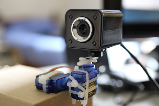 Arduino Blog » Build a pan and tilt camera with Raspberry Pi