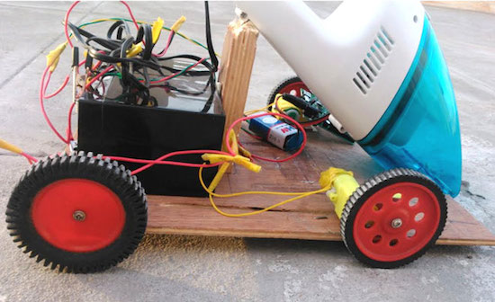 Arduino Blog » Build your own robotic vacuum from scratch