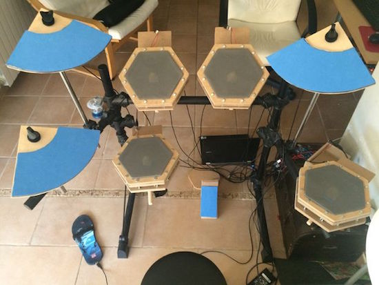 Arduino build your own electronic drum kit using an