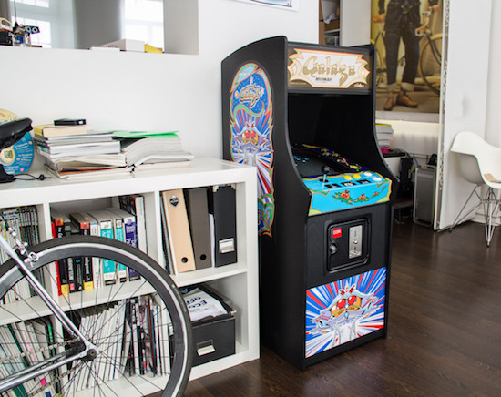 Arduino Blog 187 Galaga Revived As A 4 5 Scale Mame Machine